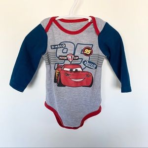 Disney One Pieces - Disney Cars Baby onesie top 9-12 Mo